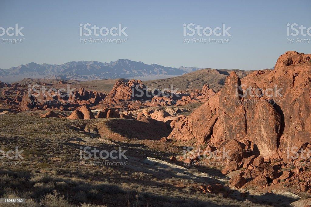 two states vista stock photo