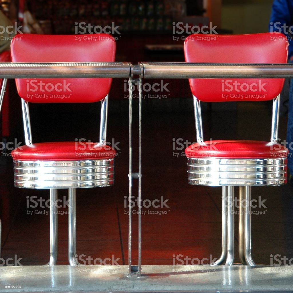 Two Stools stock photo