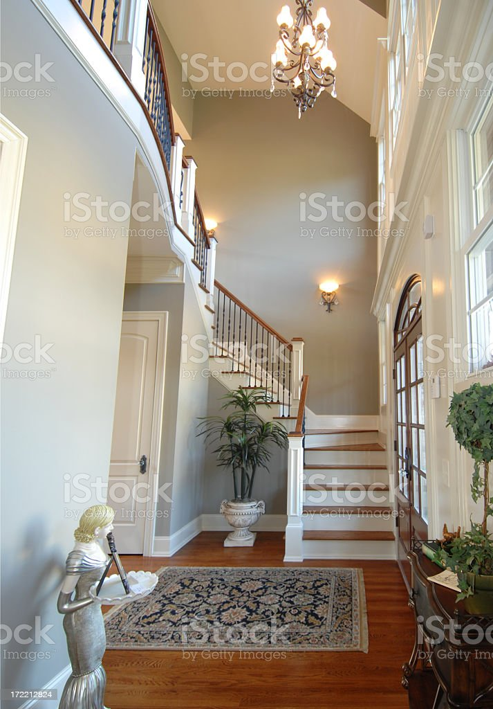 Two Story Foyer royalty-free stock photo