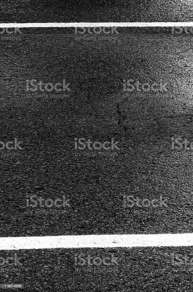 Two street lines. royalty-free stock photo
