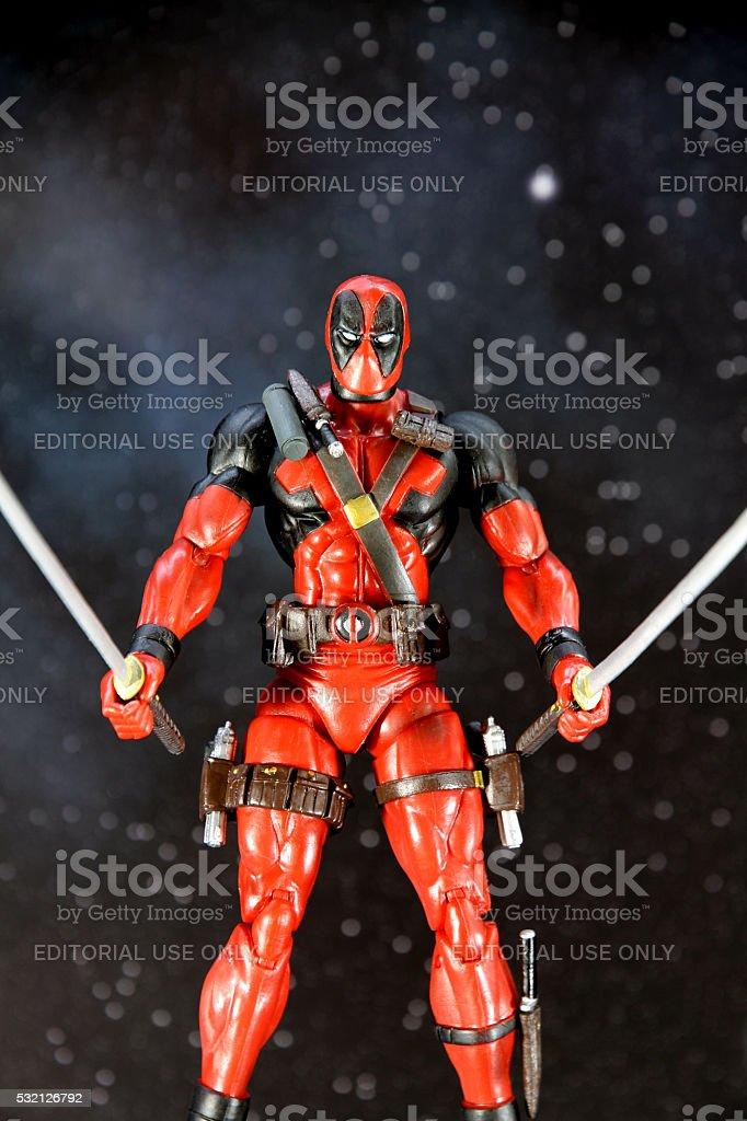 Two Sword Mercenary stock photo