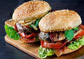 Two Tasty Hamburgers