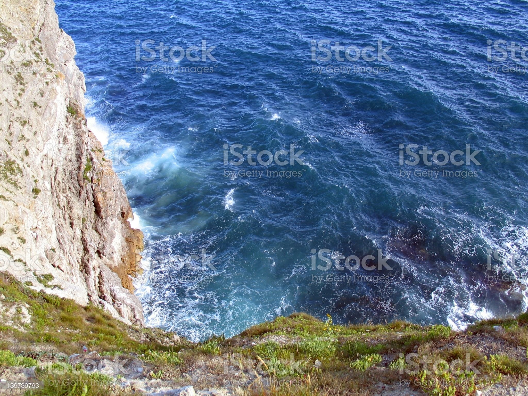 Two thirds ocean royalty-free stock photo