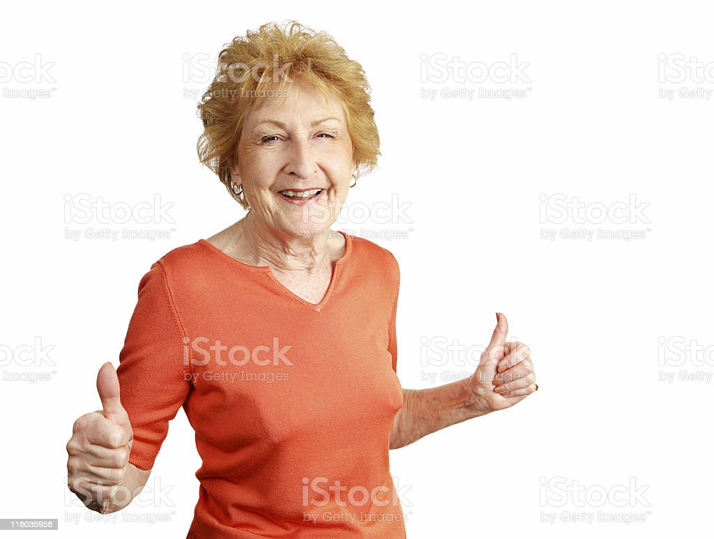 Two Thumbs-up royalty-free stock photo