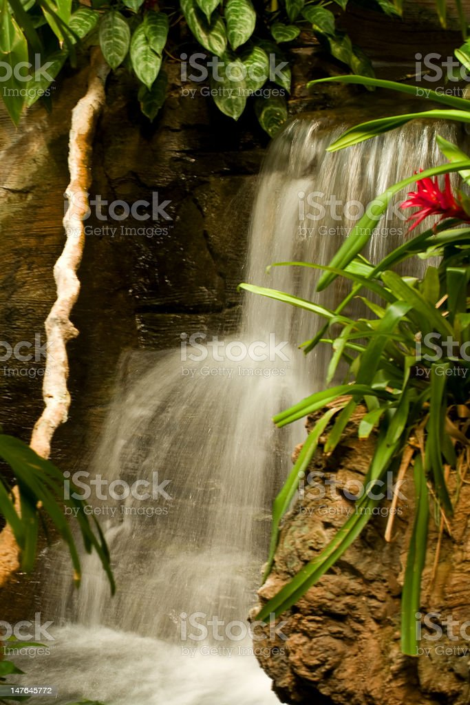 Two Tier Waterfall stock photo