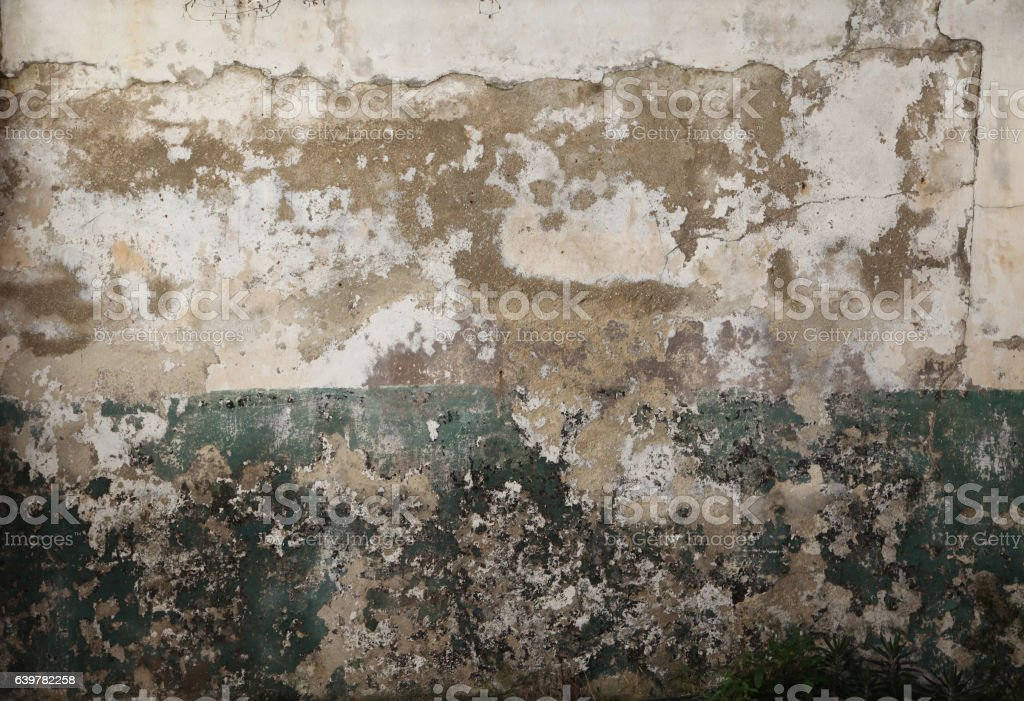 Two Tone Textured Wall stock photo