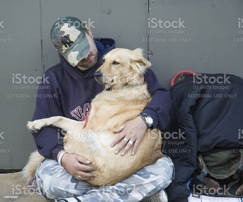 Two Travellers royalty-free stock photo