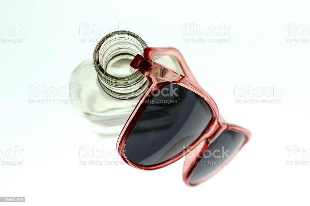 Two Types of Glasses stock photo