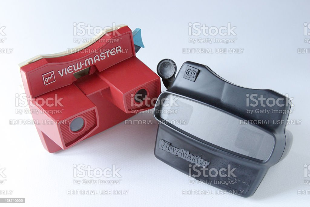 Two View-Masters stock photo