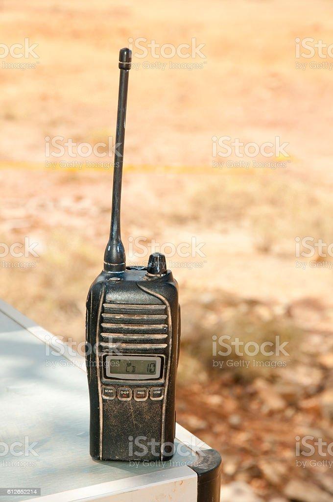 Two Way Radio stock photo
