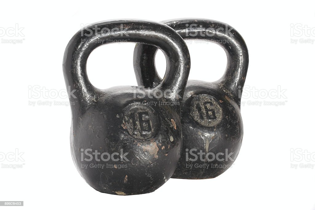 Two weight royalty-free stock photo