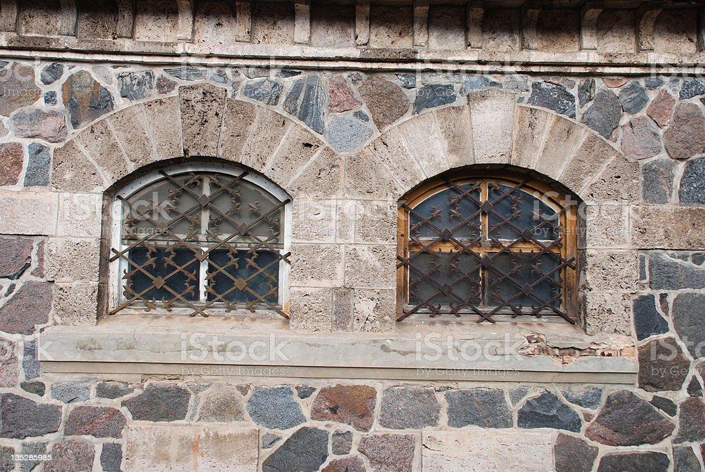 Two window royalty-free stock photo