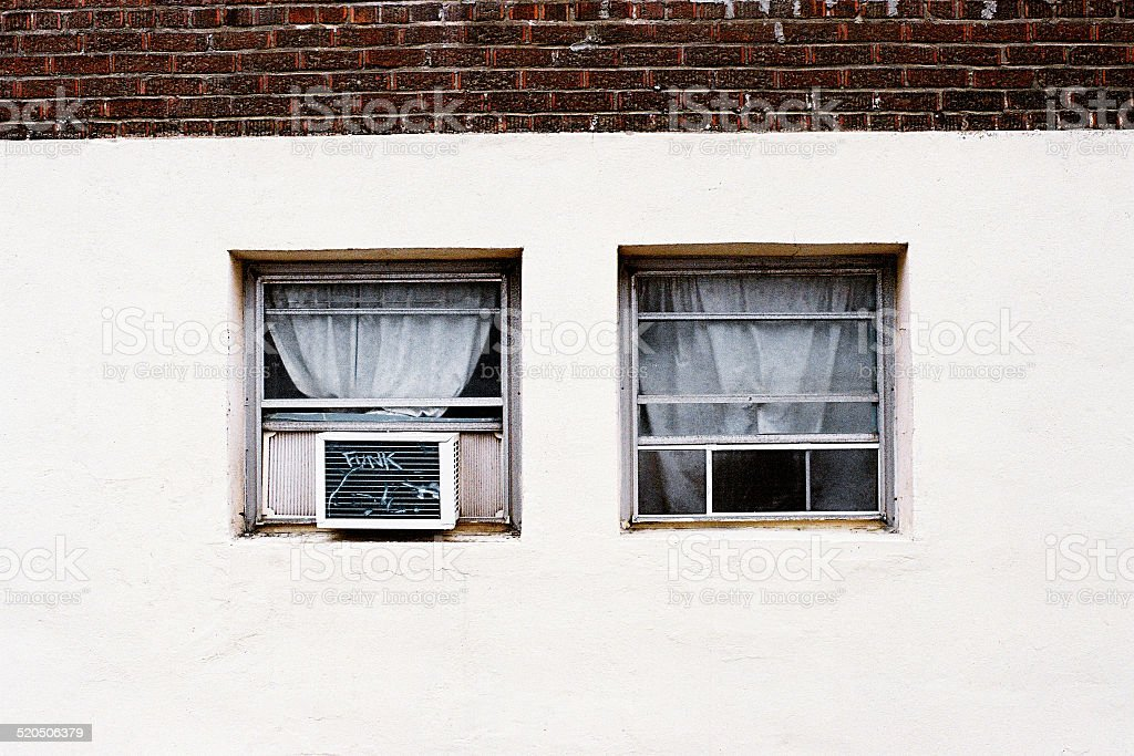 Two Windows stock photo
