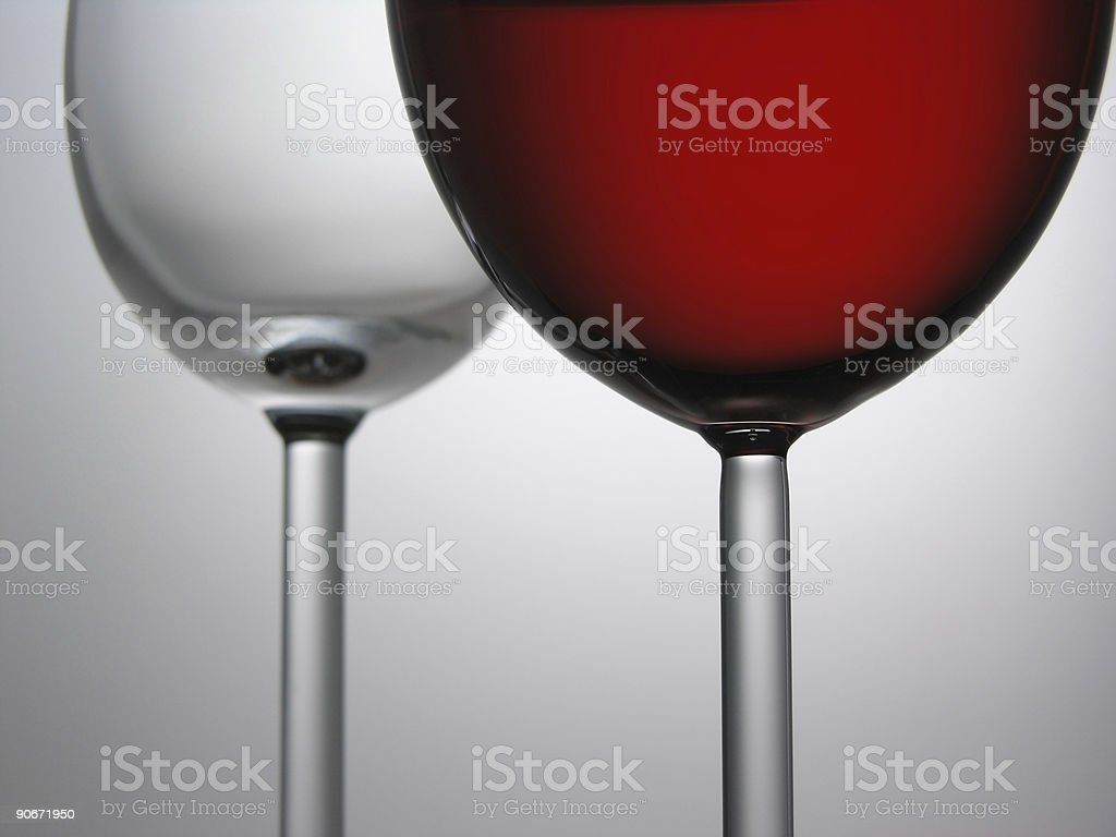 Two wines royalty-free stock photo