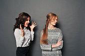 two women swear