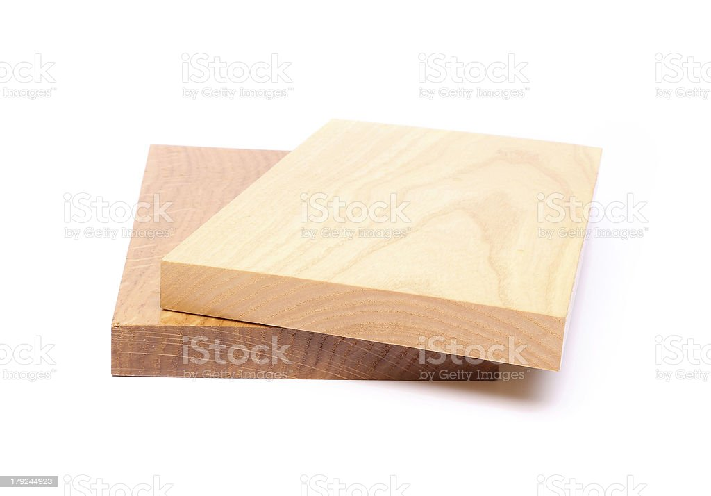 Two wooden plank close-up royalty-free stock photo