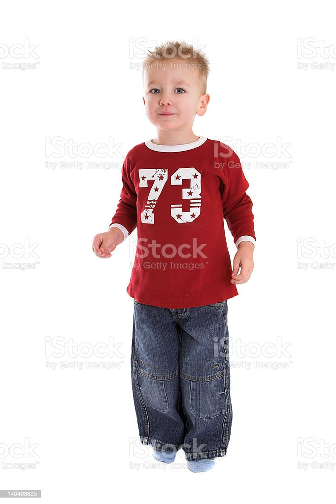 Two year old boy royalty-free stock photo