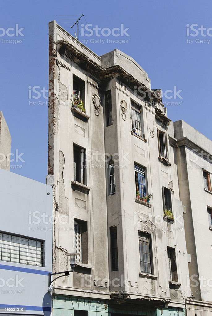 Two-dimensional building royalty-free stock photo