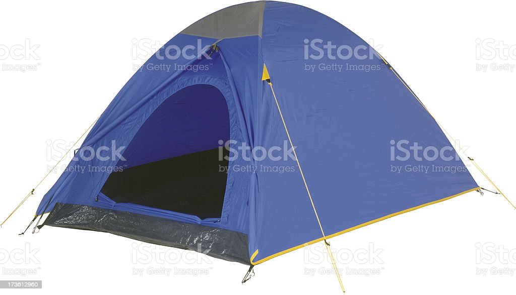 Two-person tent stock photo