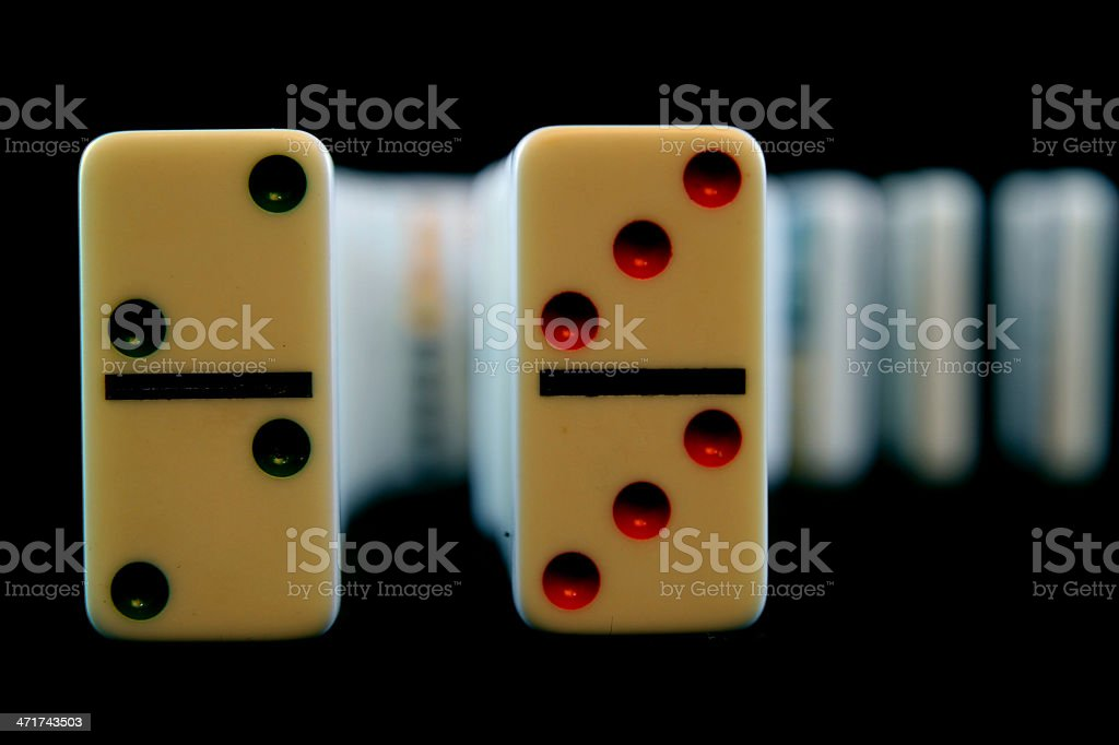 Twos and Threes royalty-free stock photo