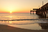 Tybee Island Pier at Sunrise