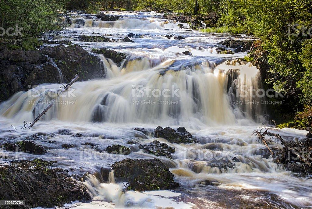 Tyler Fork Cascades royalty-free stock photo