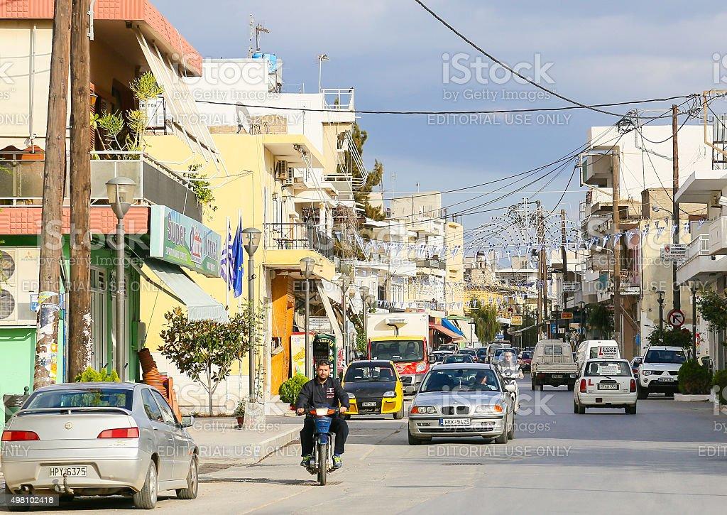 Tympaki in Crete stock photo