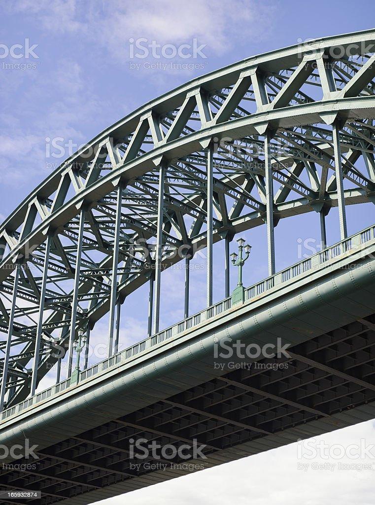 Tyne Bridge Close-Up stock photo