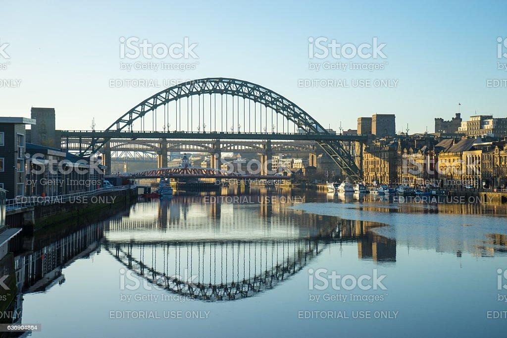 Tyne Bridge stock photo