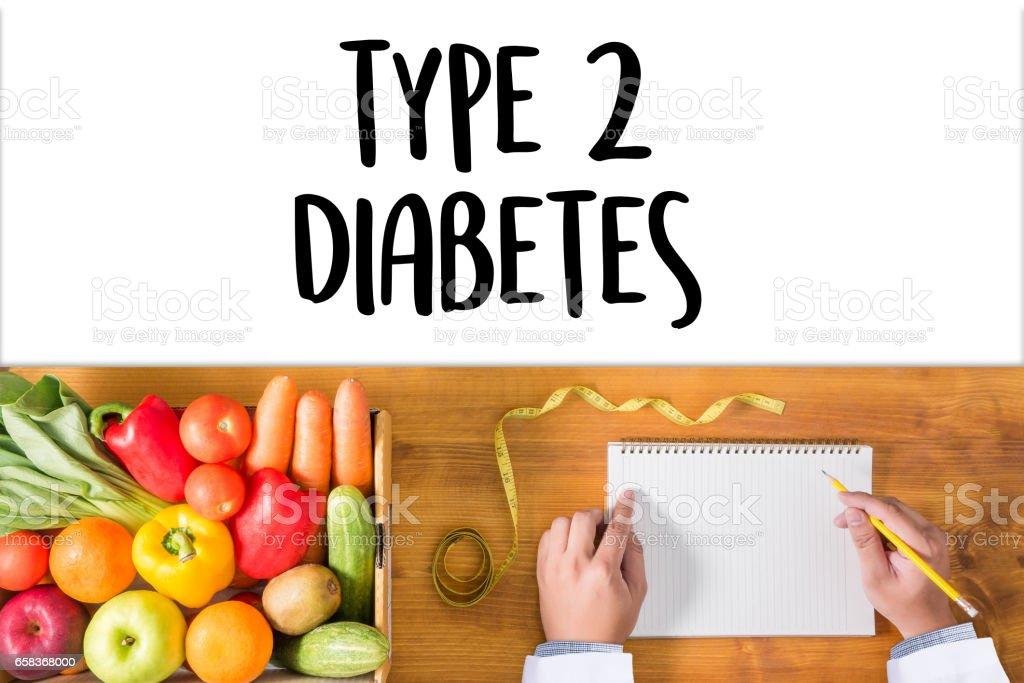 type 2 diabetes doctor a test disease health medical concept stock photo