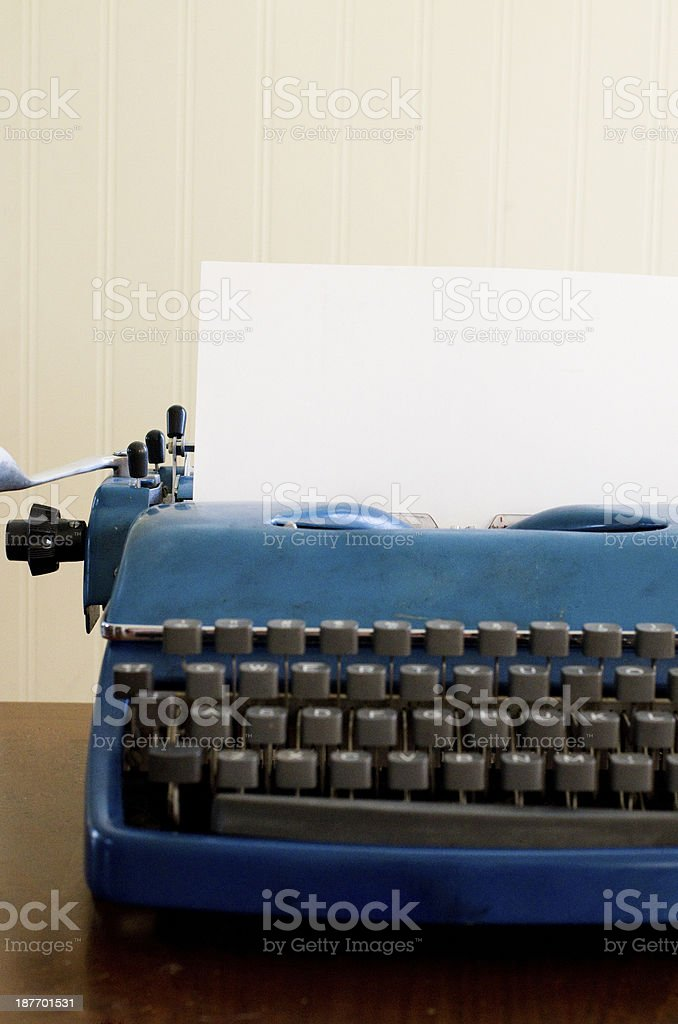 type a list or letter royalty-free stock photo