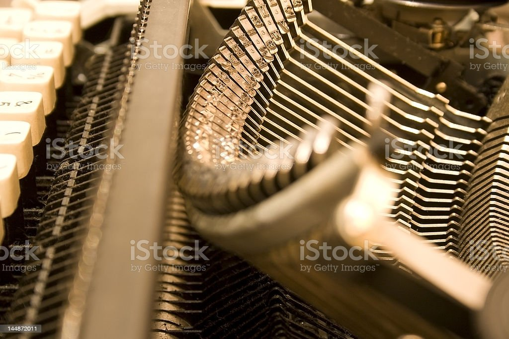 Type Bars royalty-free stock photo