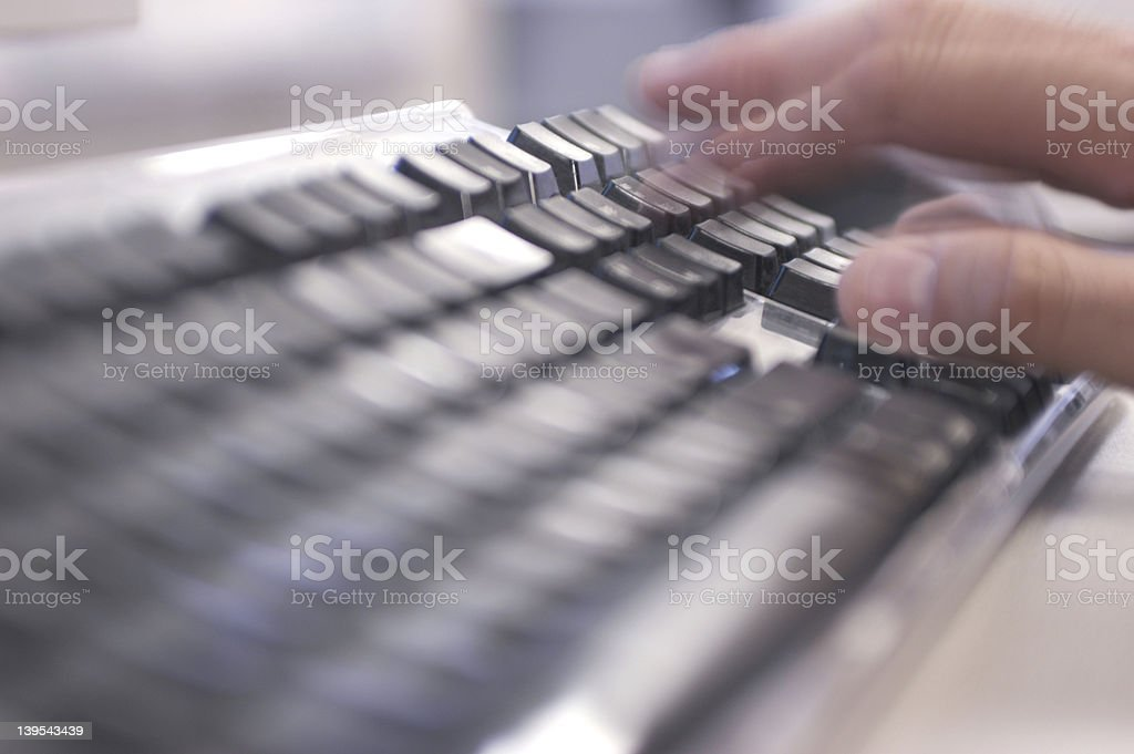 type it royalty-free stock photo
