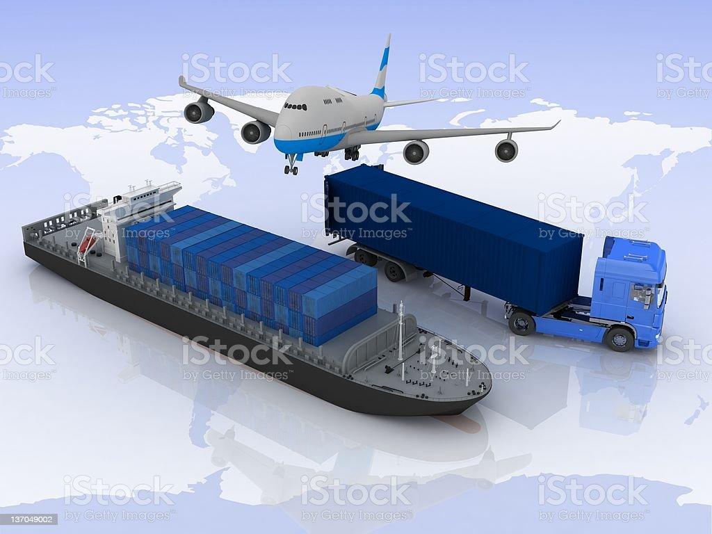 Type of transportation royalty-free stock photo