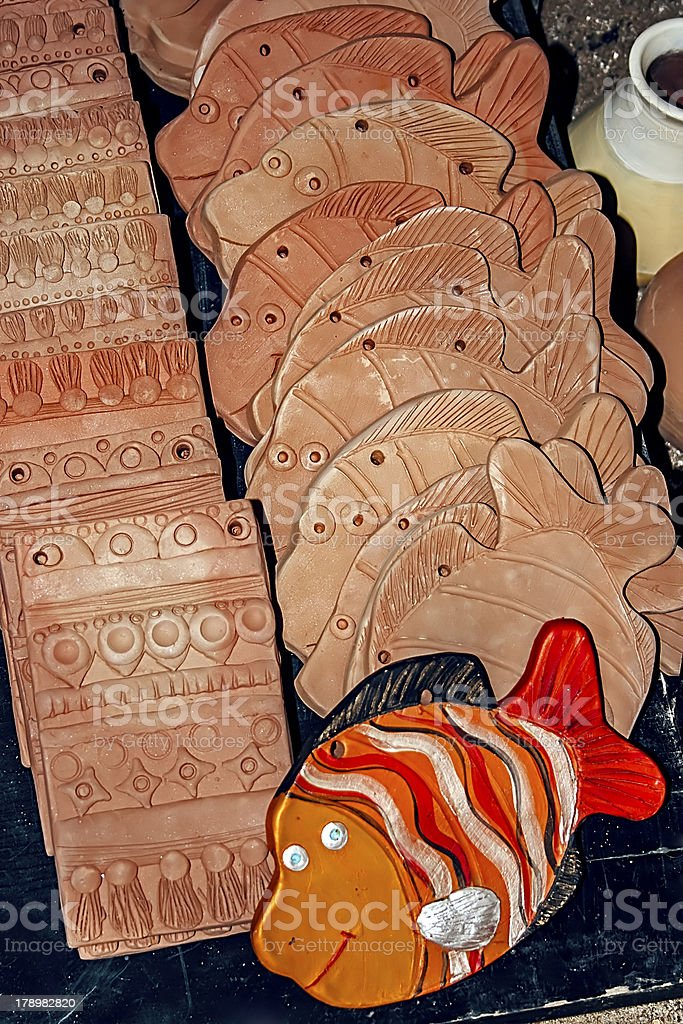 Types of clay royalty-free stock photo