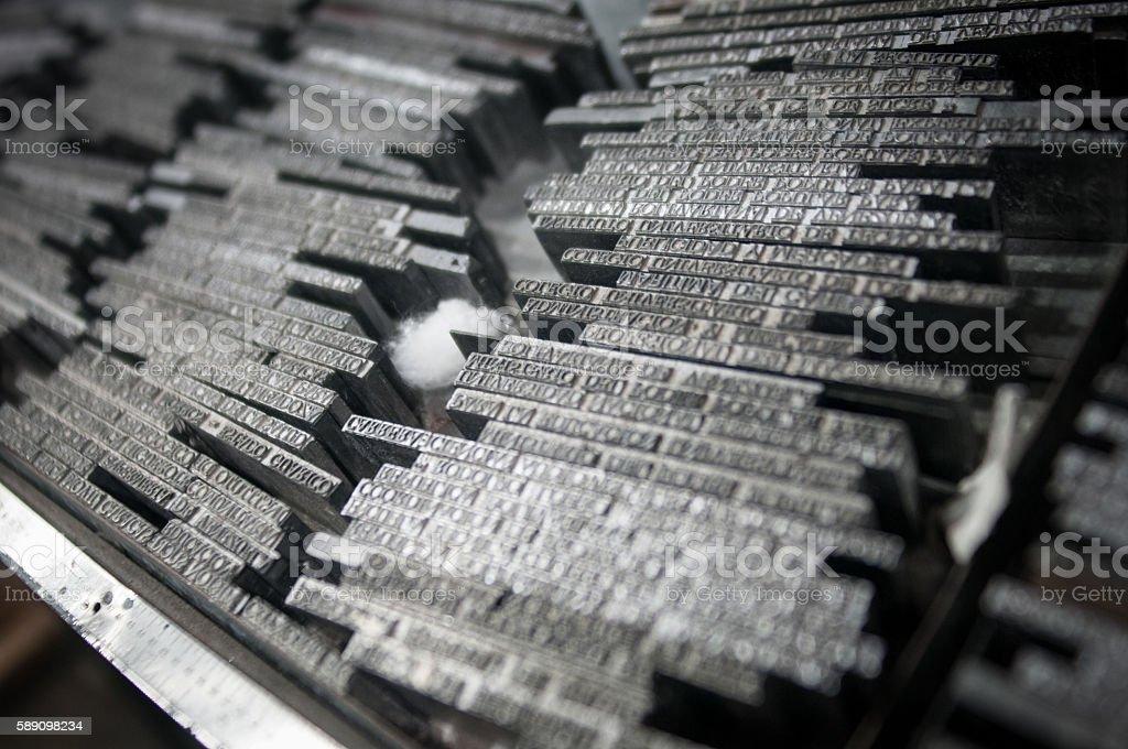 Types of iron stock photo