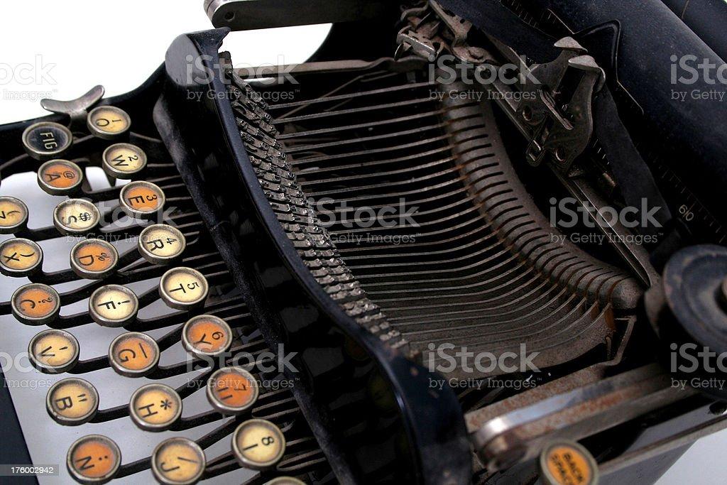 Typewriter 1 stock photo