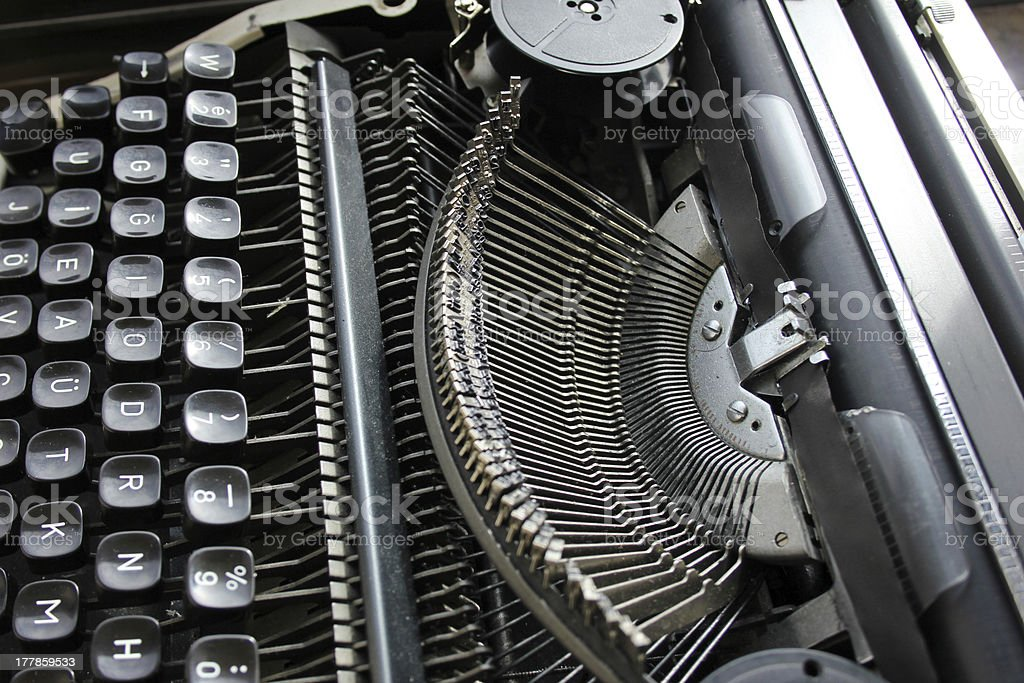 Typewriter royalty-free stock photo