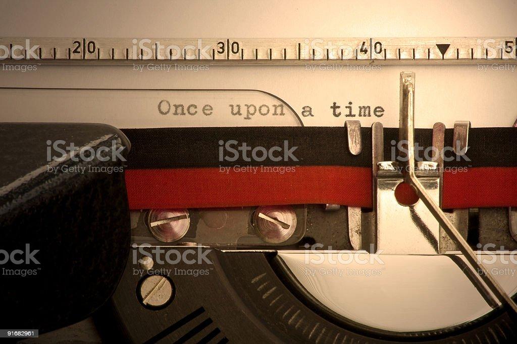 Пишущая машинка Стоковые фото Стоковая фотография