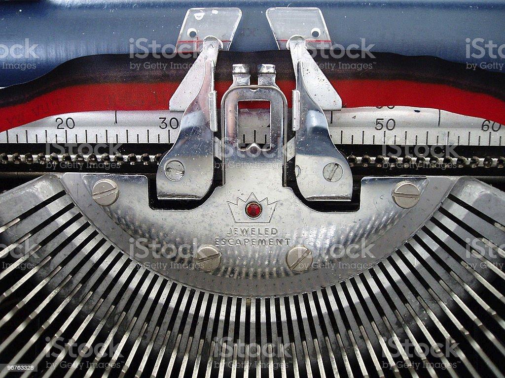 Typewriter Ribbon royalty-free stock photo