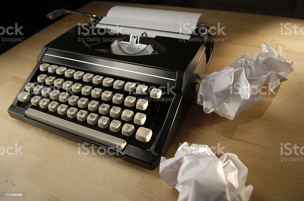 typewriter series royalty-free stock photo
