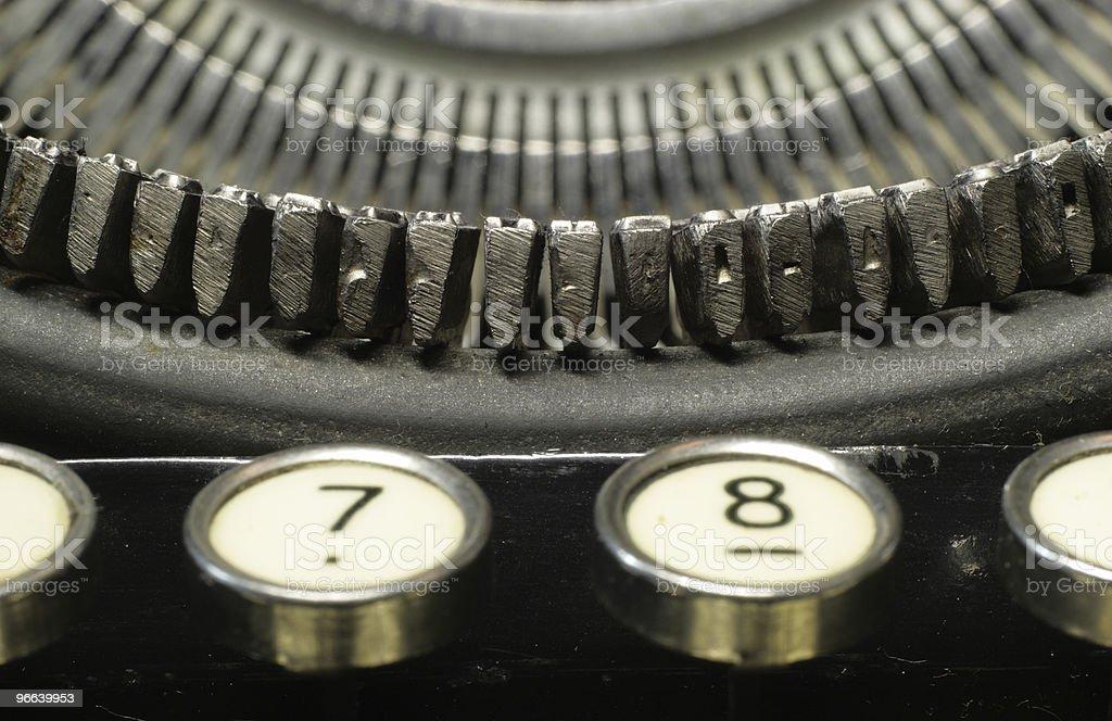 typewriter03 royalty-free stock photo