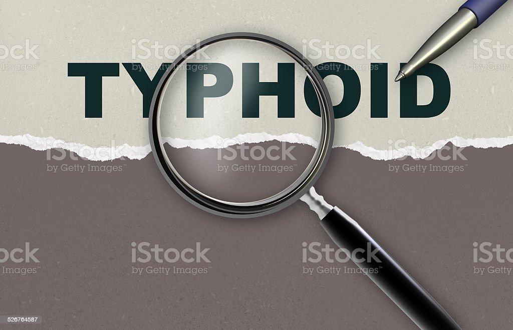 typhoid stock photo