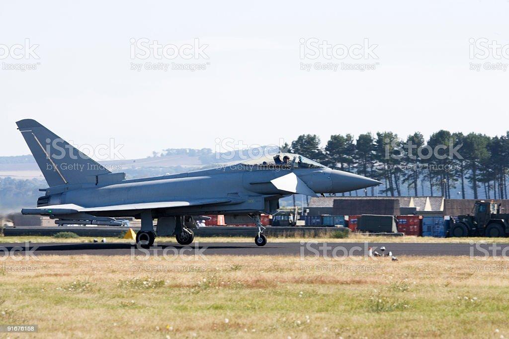 Typhoon F2 stock photo