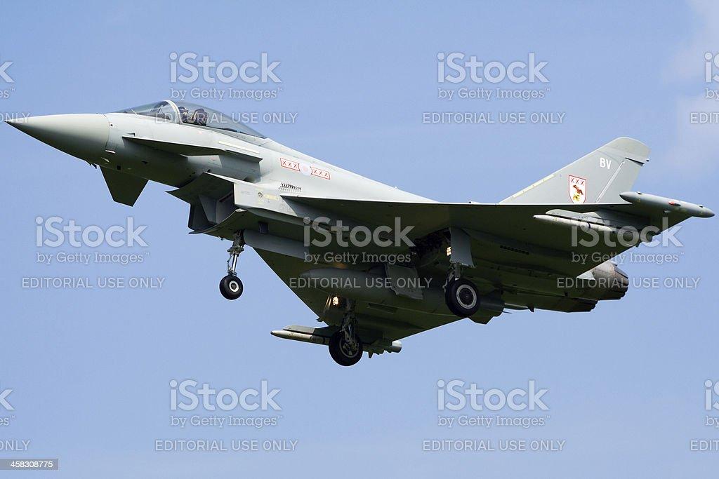 RAF Typhoon royalty-free stock photo