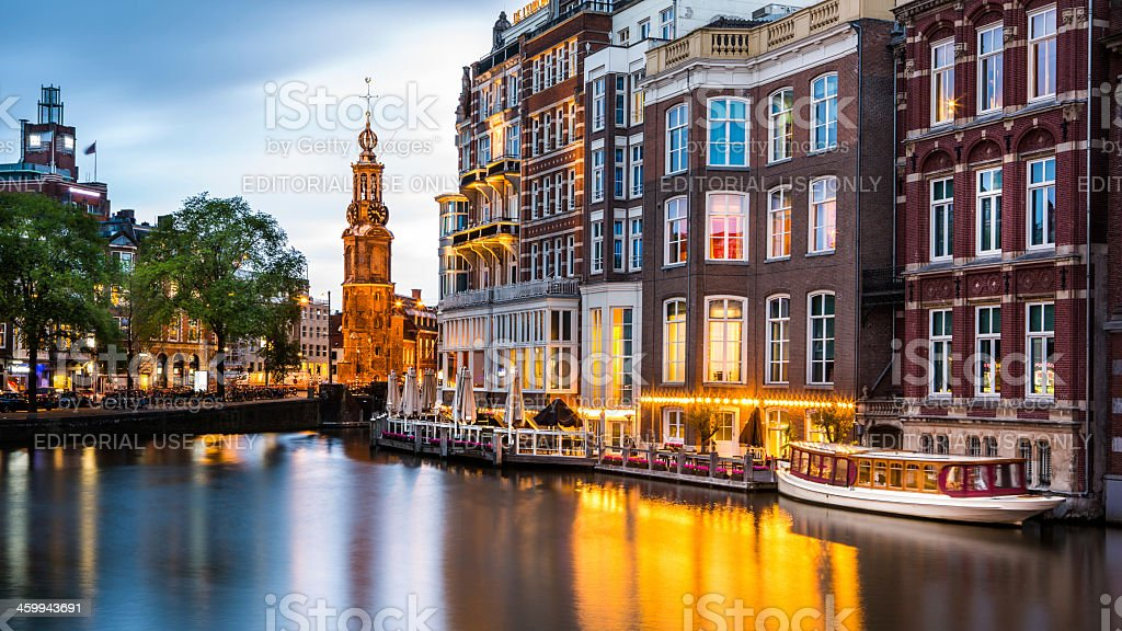 Typical Amsterdam stock photo