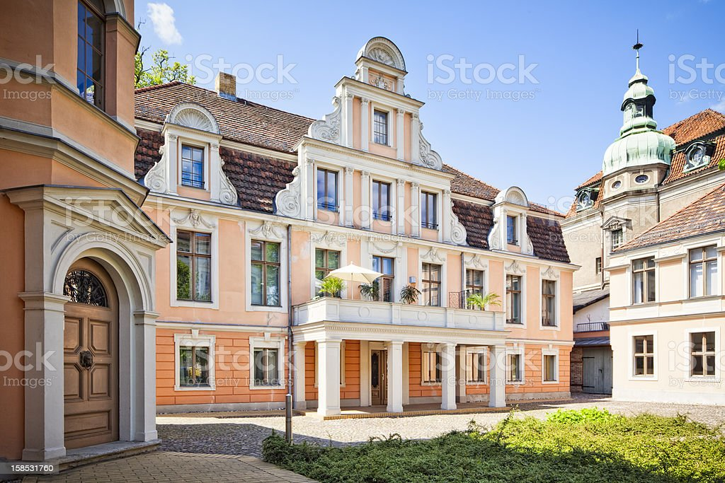 Typical architecture in Potsdam - Germany stock photo