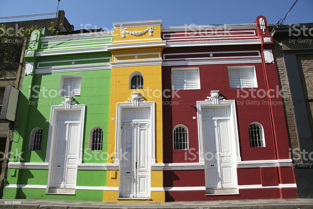 Typical architecture in Tucuman, Argentina royalty-free stock photo