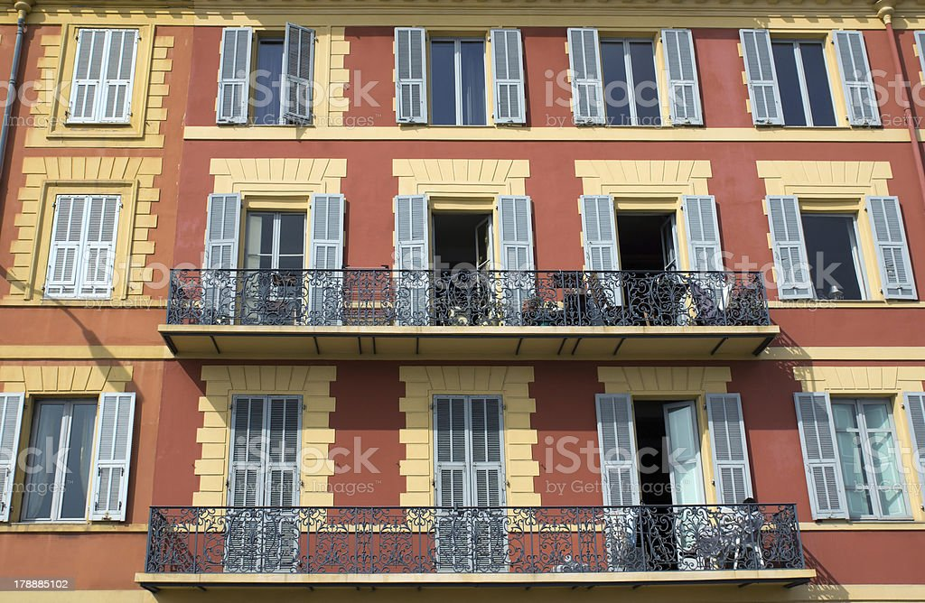 Typical city architecture royalty-free stock photo