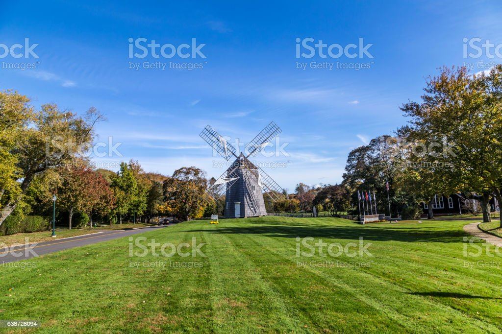 typical classical vintage mill stock photo